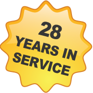 28 Years in Service